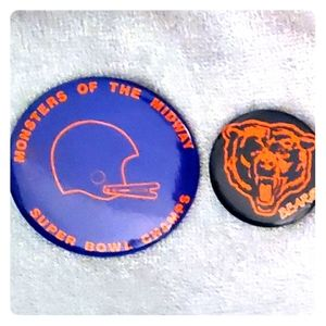 BEARS SUPER BOWL🏈1986 BUTTONS